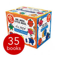 Little Miss 35 Books Collection Box Boxed Set by Roger Hargreave (Mr Men Series)