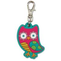 Zipper Pull Owl