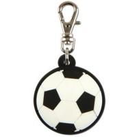 Zipper Pull Soccer