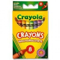 Crayons by Crayola 8 pack