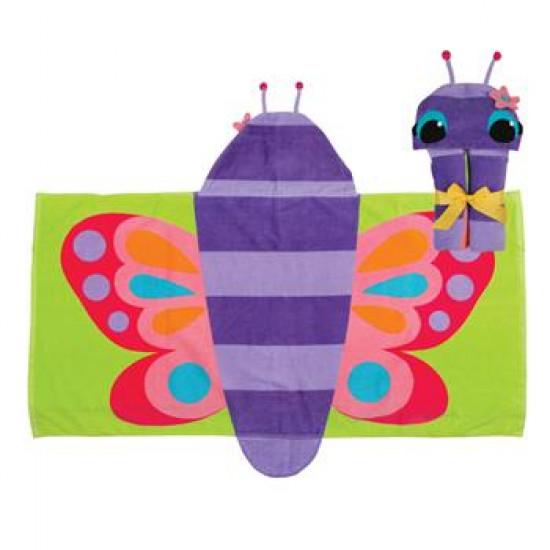 Hooded Towel Butterfly
