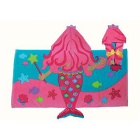 Hooded Towel Mermaid