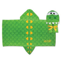 Hooded Towel Alligator