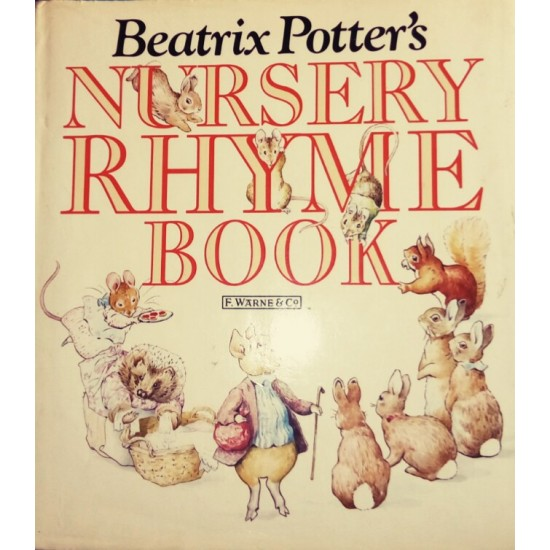 Beatrix Potter's Nursery Rhyme Book - HB