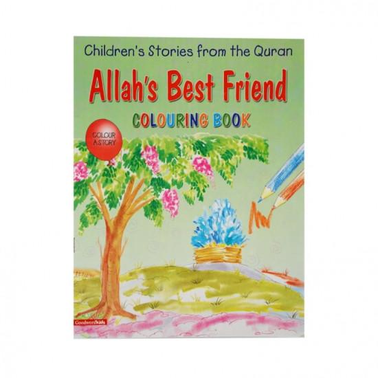Allah's Best Friend (Colouring Book)