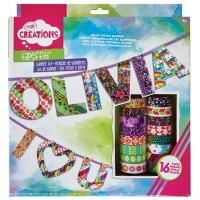 Tapeffiti Banner Kit -Crayola
