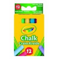 Anti Dust Chalk Coloured X 12