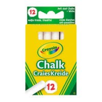 Anti Dust Chalk - White X 12