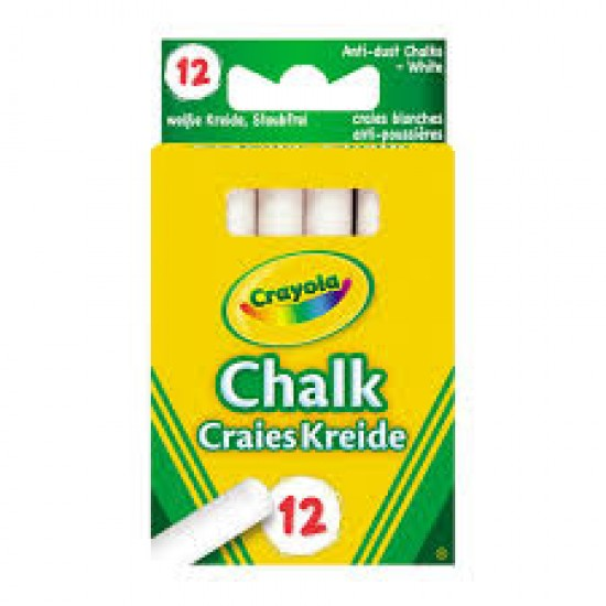 Anti Dust Chalk - White X 12
