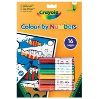 Crayola Color by Numbers Generic Version Coloring Book