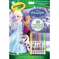 Crayola Frozen Color & Activity Book