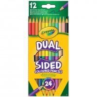 12 Dual Sided Pencils Crayola