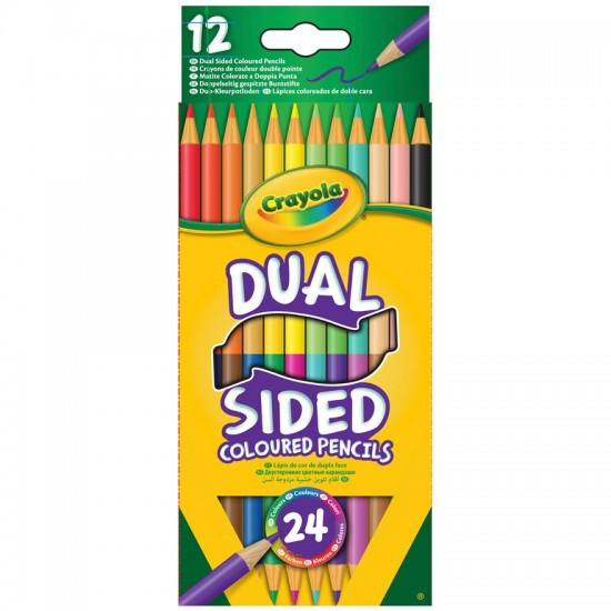 12 Dual Sided Pencils Crayola