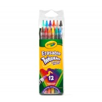 Erasable Twistables Coloured Pencils x 12