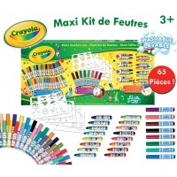 Crayola Maxi Marker Box 65 Piece Set