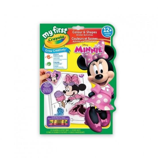 Crayola Minnie Mouse Colour & Shapes Activity Book