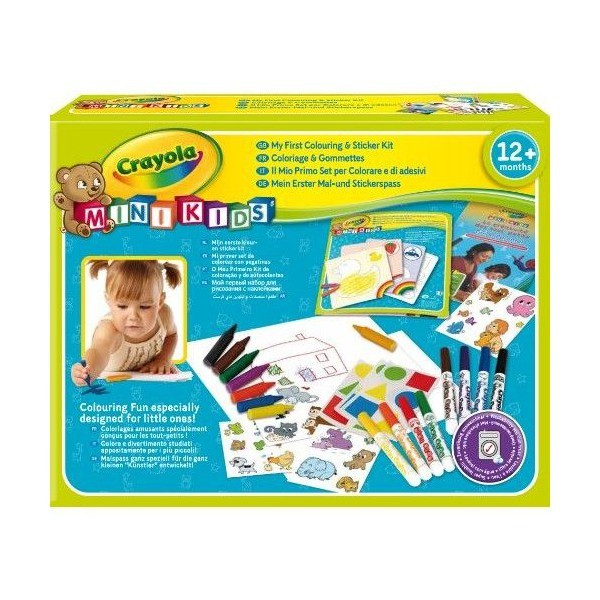 My first Colouring and Sticker Kit
