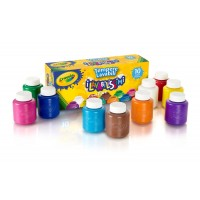 Washable Paint Bottles x 10