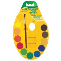 Crayola Watercolour Paint Pallette 12 Count