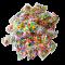 Assorted 8mm Mixed Color Soft Fluffy Pom Poms