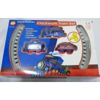 A-Z Mini Clockwork Train Set - Suitable For 3 Years +