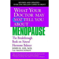 What Your Doctor May Not Tell You About Menopause: The Breakthrough Book on Natural Hormone Balance  by Lee, John R.-Softcover
