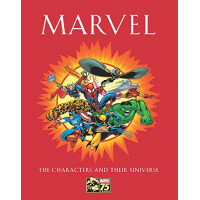 Marvel: The Characters and Their Universen by Mallory, Michael -Hardcover