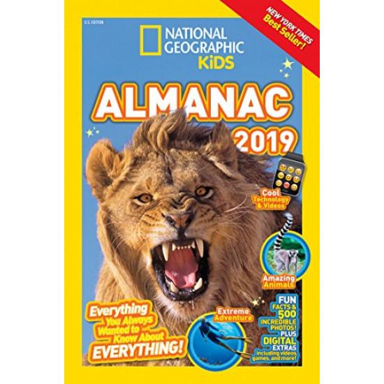 Almanac 2019 (National Geographic Kids)