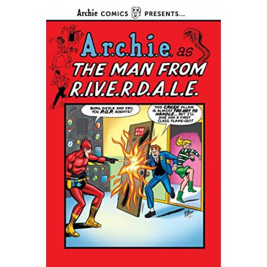 A.r.c.h.i.e. as the Man from R.I.V.E.R.D.A.L.E. (Archie Comics Presents)