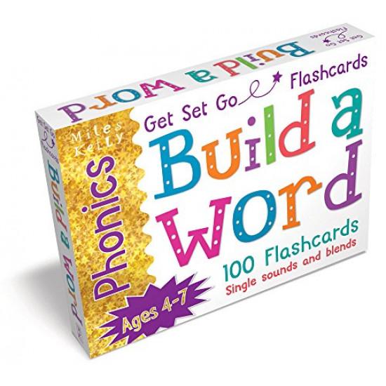 Get Set Go Phonics Flashcards: Build a Word