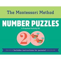 Number Puzzles (The Montessori Method)- Hardcover