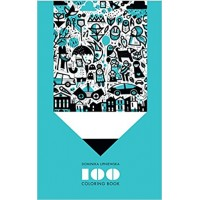 100 Coloring Book by Dominika Lipniewska (Illustrator)