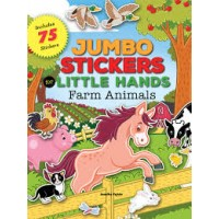 Jumbo Stickers for Little Hands: Jungle Animals: Includes 75 Stickers Book by Jomike Tejido