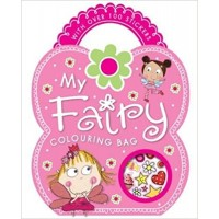Colouring and Sticker Books: My Fairy Colouring Bag by Ellie Fahy