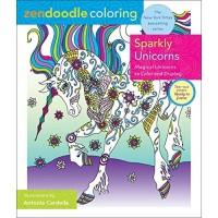 Sparkly Unicorns (Zen Doodle Coloring)