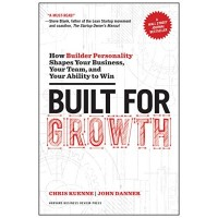 Built for Growth: How Builder Personality Shapes Your Business, Your Team, and Your Ability to Win by Kuenne, Chris Danner, John -Hardcover