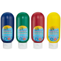 Washable Finger Paint Tubes