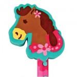 Doodle Dude Pencil Girl Horse