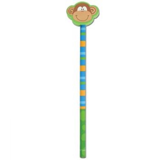 Doodle Dude Pencil Girl Frog
