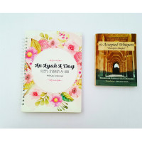 Hardcover Notebooks- Ayat A day - Pink and Rose