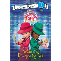 The Case of the Disappearing Doll (Disney Junior Fancy Nancy, I Can Read! Level 1)-Hardback