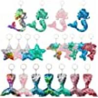Sequin Keychains Glitter