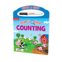 Counting: Search & Find (Write & Wipe Carry-Along)