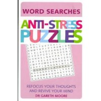 Anti-Stress Puzzles (Word Search) by Moore, Gareth