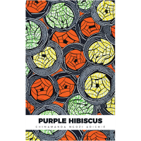 Purple Habiscus- Paper Back