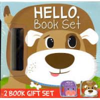 Hello Book Set (2 Book Gift Set - Safari, Pets)- Board Book Set