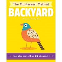 Backyard: A Preschool Activity Book (The Montessori Method) by Piroddi, Chiara
