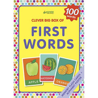 First Words: Memory Flash Cards (Clever Big Box Of)  by Sergeeva, Masha (Ilt)