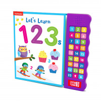 Let's Learn 123s (Listen & Learn)-hardback and Sing Along