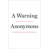 A Warning by Anonymous- Hardback